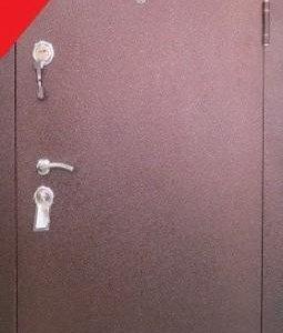 Стальная дверь с установкой «10 СМ ТЕПЛА»