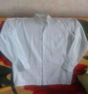 Рубашка белая ( рост 158-164)