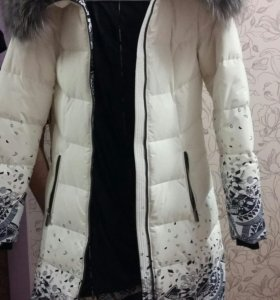 Пуховик-пальто, (зима)