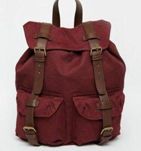 Рюкзак с контрастными лямками ASOS