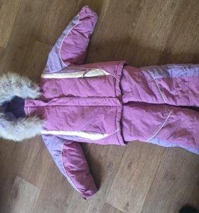 Комплект зимний,полукомбинезон и куртка