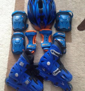 ‼️Комплект 25-29р ролики защита шлем