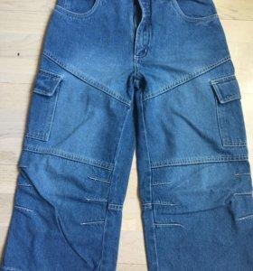 Шорты на мальчика новые джинсовые 158