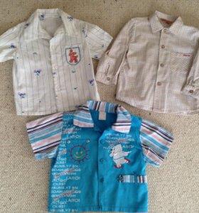 Летние рубашки, mayoral, 1-3 года