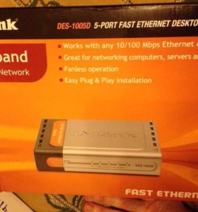 Маршрутизатор D-link DES-1005D