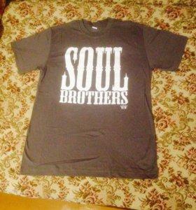 """Футболка """"soul brothers"""""""