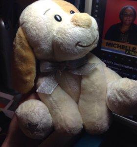 Собака игрушка плюшевая детское