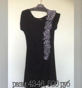 Платья 4 штуки, размеры 42-48, 500-800 руб