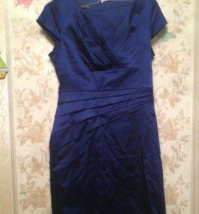 Коктейльное платье как новое 46-48