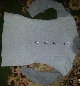 Красивый свитер 134/140