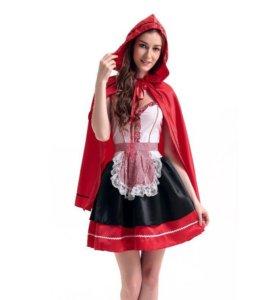 Платье красной шапочки c накидкой