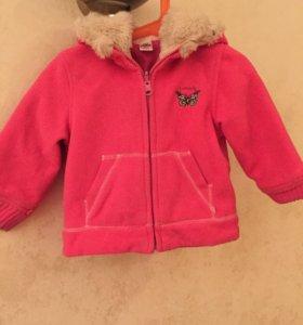 Курточка Zara baby на девочку