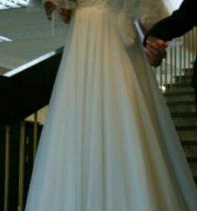 Продам свадебное платье и накидку