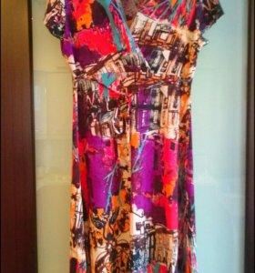 Летнее платье 46р