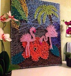 Фламинго в оазисе