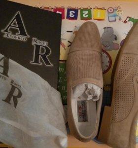 Туфли мужские alberto rocci