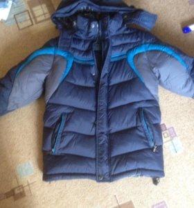 Куртка зимняя тёплая  рост 130-140