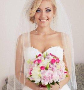 Свадебный стилист- визажист(прически макияж)