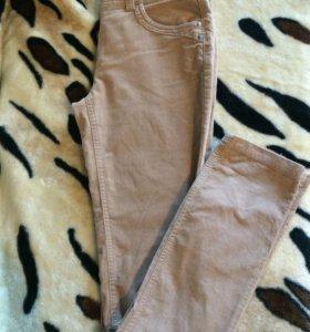 Велюровые брюки Oodji