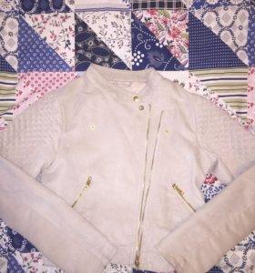 Куртка под замшу