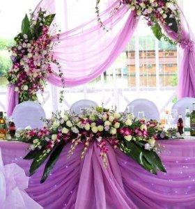 Свадьба , оформление.