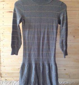Трикотажные платья-туника S
