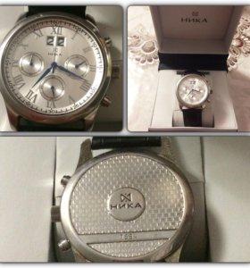 Часы серебрянные Ника.