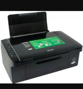 Мфу принтер Epson stylus TX117
