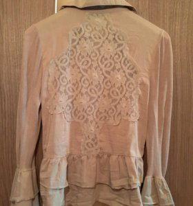 Блуза рубашка Adilisik 44 р-р кружево