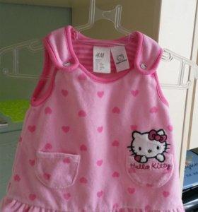 Платье для малышки рост 56-62