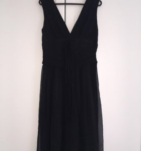 Платье шелковое Sultana Frantsuzova черное