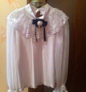 Блуза праздничная школьная  Срочно!
