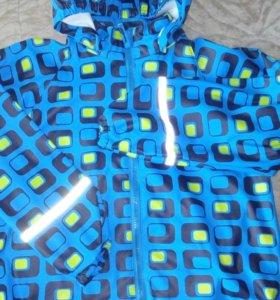 Куртка непромокайка новая р 128 большемерит ,краги