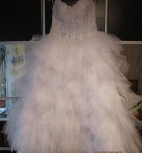 Свадебное платье (шубка в подарок)