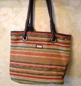 Плетёная сумка zolla