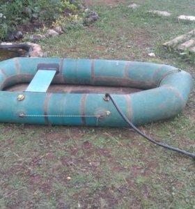 Лодка ветерок 1 для озерной рыбалки