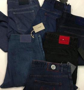 Мужские брендовых джинсы Kiton Canali Brioni