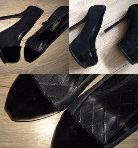 Замшевые туфли Gerzedo