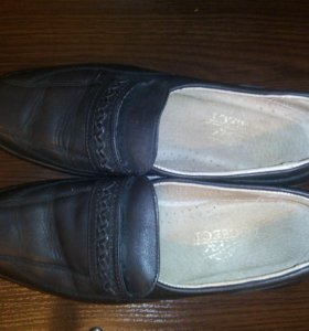 Туфли натуральная кожа 39р