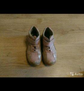 27 кожаные ботинки antilopa