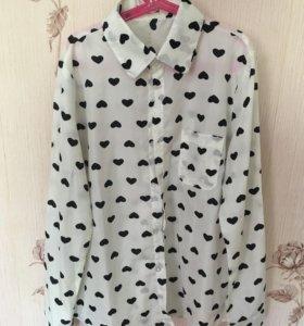 Рубашка женская блузка