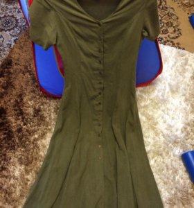 Платье в пол р38, наш 44-46