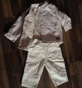 Комплект / джинсы / штаны и кофта / куртка