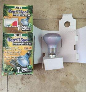 Лампа галогеновая неодимовая террариум JBL E27 28W