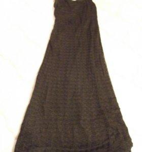 Платье в пол 42-44р