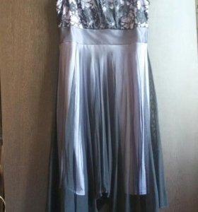 Платье и жакет 46-48