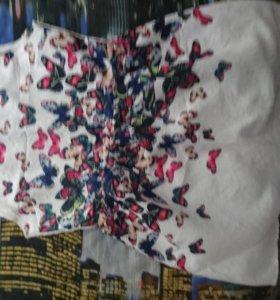 Платье летнее с бабочками