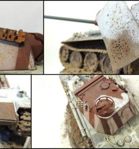 Модель танка PzKpfw V Pantera