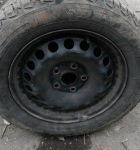 Комплект колес от шкоды октавия
