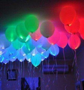 Светящиеся шары, шары гелиевые и многое другое